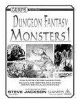RPG Item: GURPS Dungeon Fantasy: Monsters 1