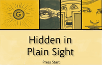 Video Game: Hidden in Plain Sight