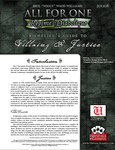 RPG Item: Richelieu's Guide to Villainy & Justice
