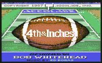 Video Game: 4th & Inches