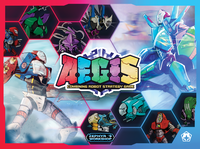 Board Game: A.E.G.I.S.: Combining Robot Strategy Game