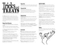 RPG Item: Tricks and Treats