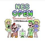 Video Game: NES Open Tournament Golf