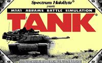 Video Game: Tank (1991)
