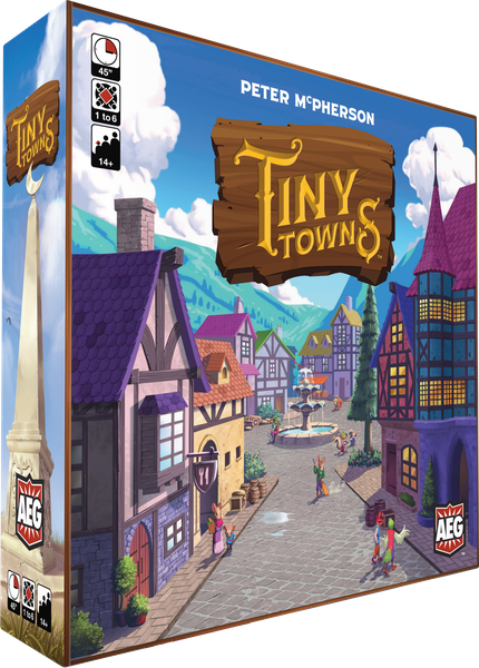 Tiny Towns, Alderac Entertainment Group, 2019