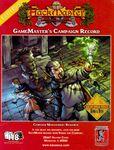 RPG Item: GameMaster's Campaign Record