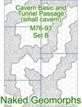 RPG Item: Naked Geomorphs: Cavern Basic and Tunnel Passage Set B (Small Cavern)