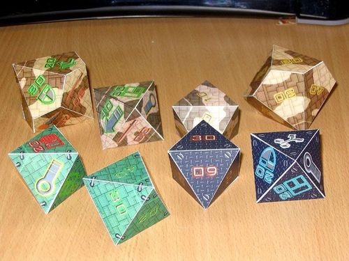 Board Game: Mecha Dice