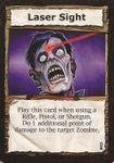 Board Game: Dead Panic: Laser Sight Promo Card