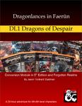 RPG Item: Dragonlances in Faerûn: DL1 Dragons of Despair