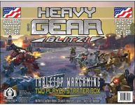 Board Game: Heavy Gear Blitz!: War for Terra Nova