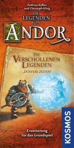 """Die Legenden von Andor: Die verschollenen Legenden """"Düstere Zeiten"""" Cover Artwork"""