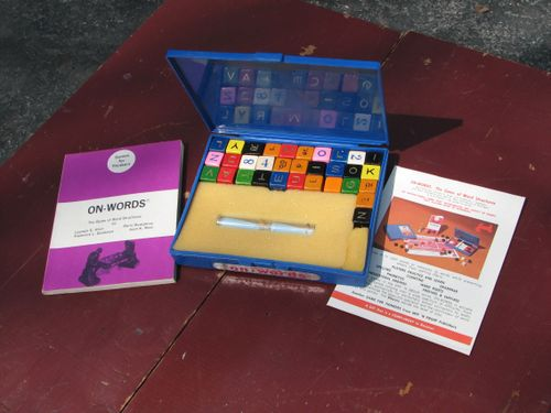 Board Game: On-words