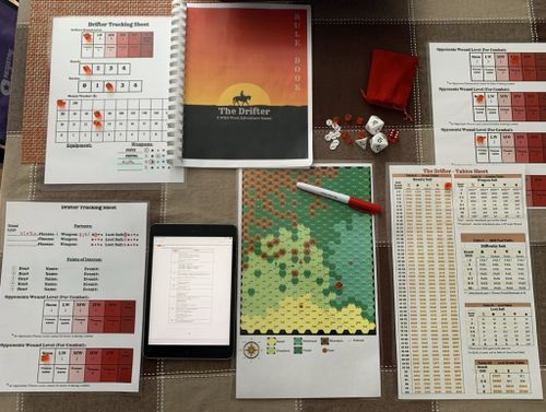 Board Game: The Drifter