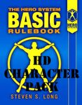 RPG Item: HERO System 6th Edition Basic Rulebook Character Pack (HD Character Pack)