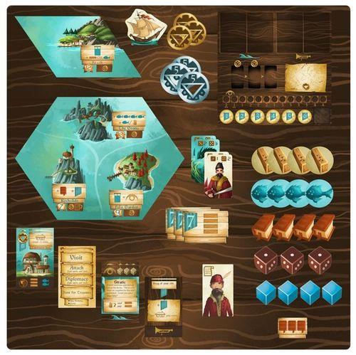 Board Game: Islebound: Kickstarter Edition