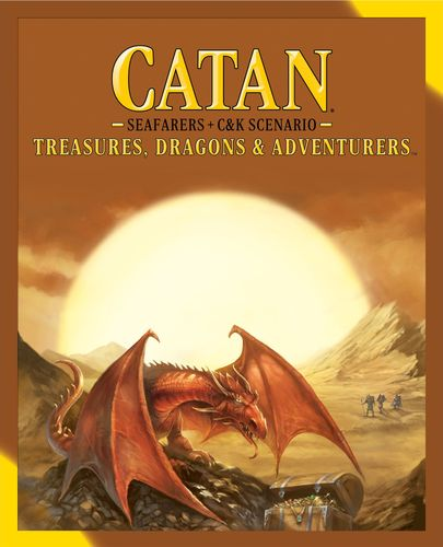 Board Game: Catan: Treasures, Dragons & Adventurers