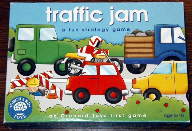 Traffic Jam Board Game Boardgamegeek