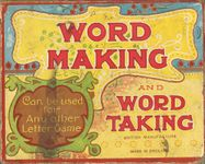 Board Game: Word Making and Taking