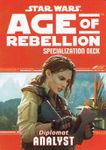 RPG Item: Age of Rebellion Specialization Deck: Diplomat Analyst