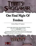 RPG Item: ToS1-09: One Final Night of Freedom