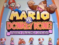 Video Game: Mario vs. Donkey Kong: Minis March Again!