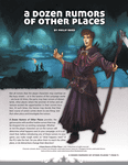 RPG Item: A Dozen Rumors of Other Places