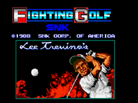 Video Game: Lee Trevino's Fighting Golf