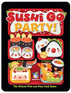 Sushi Go Party! Cover Artwork
