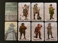 Board Game Accessory: The Grizzled: British Soldiers