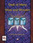 RPG Item: Deck of  Many Woes and Wonders