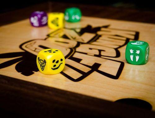 Board Game: Kung Fu Zoo