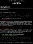 Issue: Car Wars Internet Newsletter (Vol 1 No 8 - October 2048)