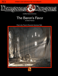 RPG Item: The Baron's Favor