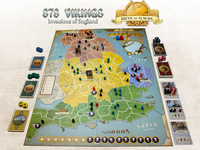 Board Game Accessory: 878 Vikings: Invasions of England – Giant Map Mat