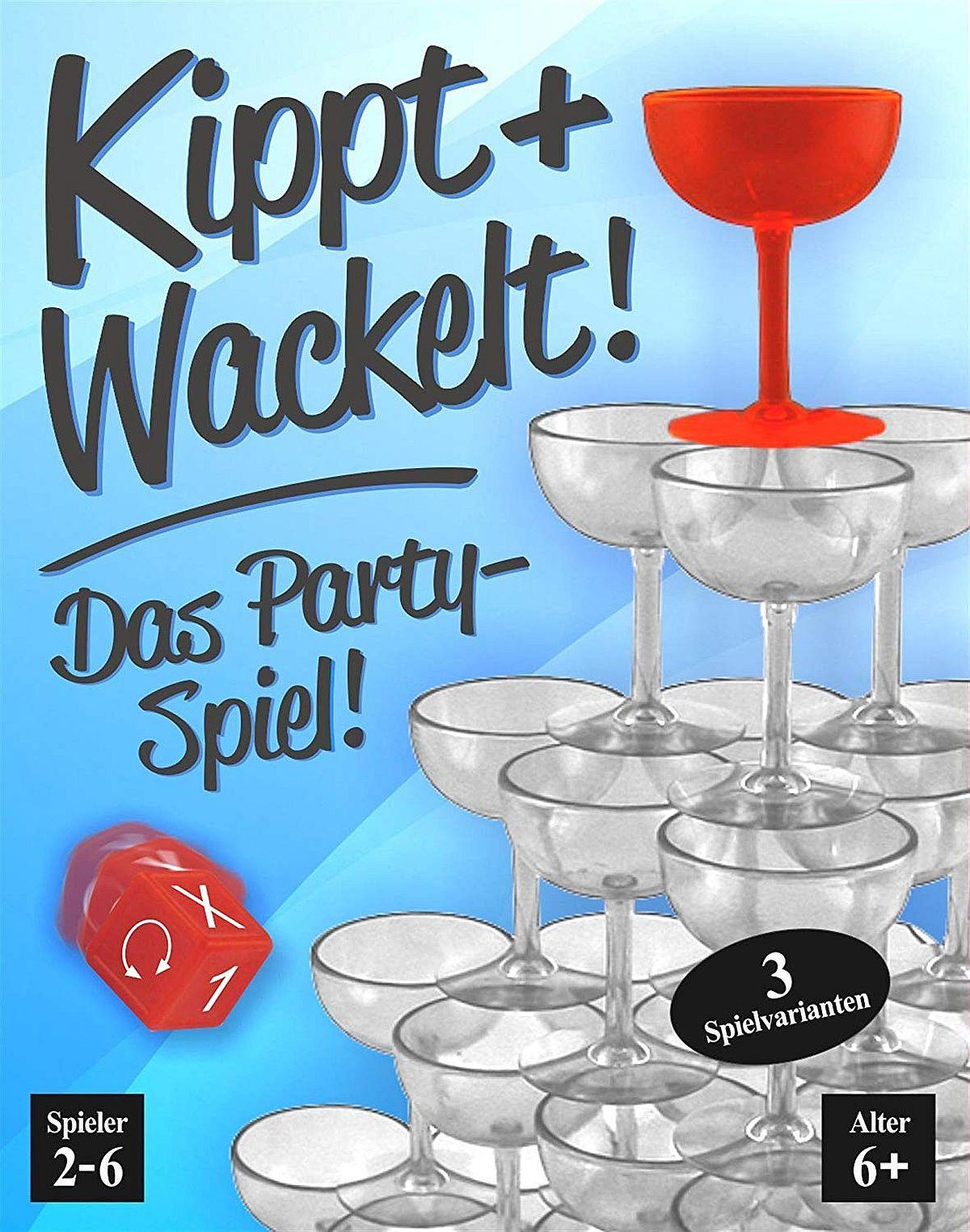 Kippt + Wackelt!: Das Partyspiel!