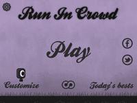Video Game: Run in Crowd