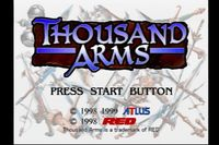 Video Game: Thousand Arms