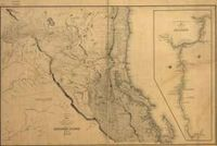 RPG Item: Antique Maps 18: Oregon Territory of the 1800's