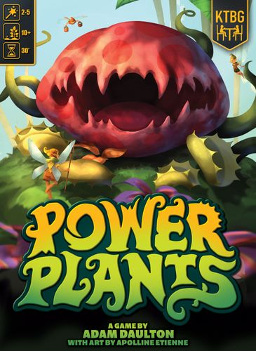 Board Game: Power Plants