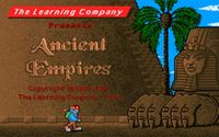 Video Game: Challenge of the Ancient Empires!