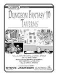 RPG Item: GURPS Dungeon Fantasy 10: Taverns