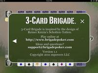 Video Game: 3-Card Brigade Poker