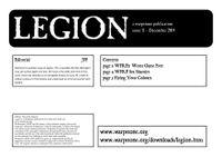 Issue: Legion (Issue 11 - Dec 2014)