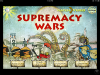 Video Game: Supremacy Wars
