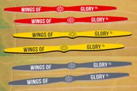 Board Game Accessory: Wings of Glory: ACE Prop Rulers