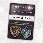 Board Game Accessory: Vindication: Metal Threshold Medallions