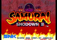 Video Game: Samurai Shodown III