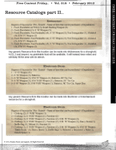RPG Item: Free Content Friday Vol. 018: February 2012: Resource Catalogs Part II