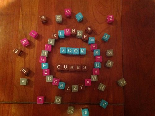 Board Game: Xoom Cubes